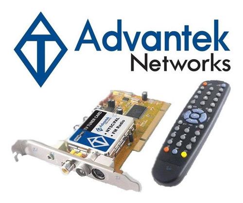 Imagen 1 de 6 de Tarjeta Advantek Tv Tuner Radio Fm Capturadora Para Pc