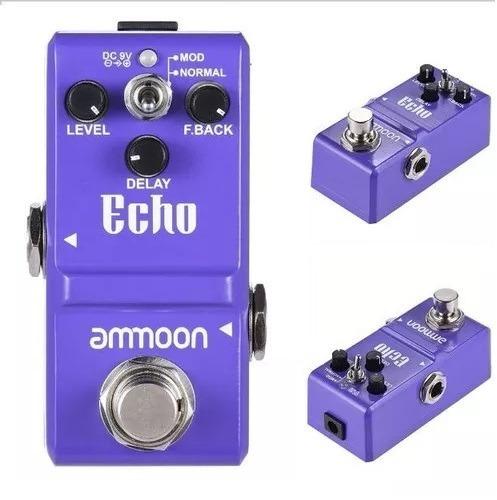 Nano Pedal Electro De Efeito Echo Delay F.back Guitarra