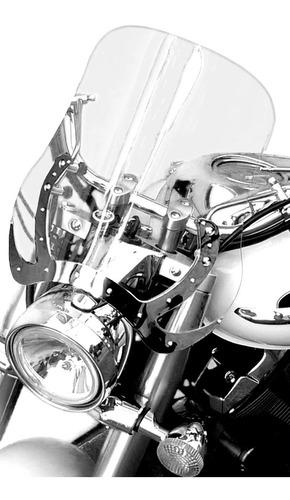 Bolha Para Motos Custom  Em Policarbonato  Cristal 4mm
