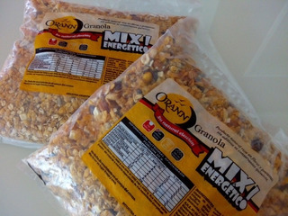 Granola Mix Energético Orann. Bolsas De 1 Kilo
