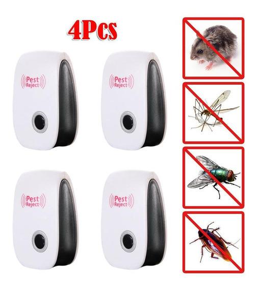 4 X Ultra-sônico Eletrônico Anti Mosquito Pest Bug De