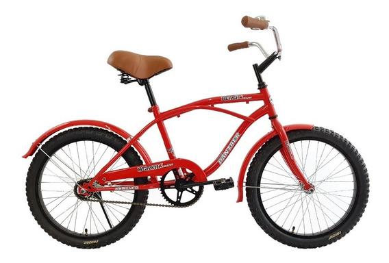 Bicicleta Vintage Cruiser Rodada 20 Para Niño
