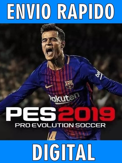 Pes 2019 P/ Pc Envio Rapido (offiline) Digital