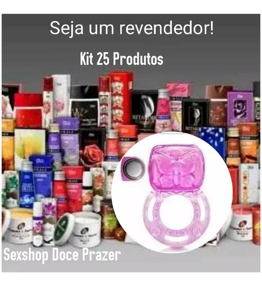 Kit Sexshop 25 Produtos Atacado Revenda Sex Shop Doce Prazer