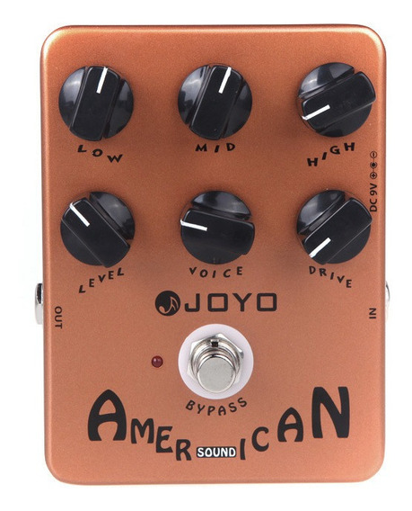 Joyo Jf-14 American Sound Guitar Amp Simulador Effect Pedal