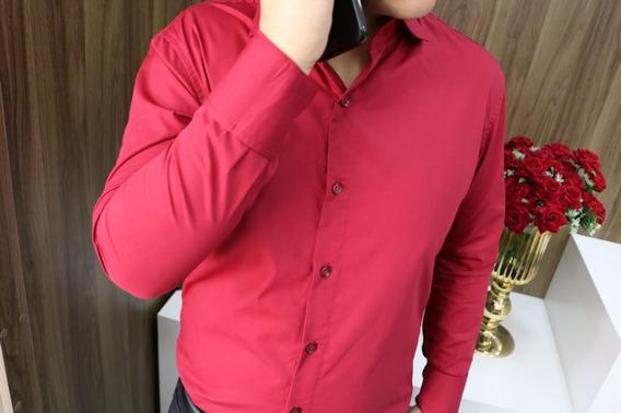 Camisa Social Masculina Manga Longa 18 Modelos Via Do Terno