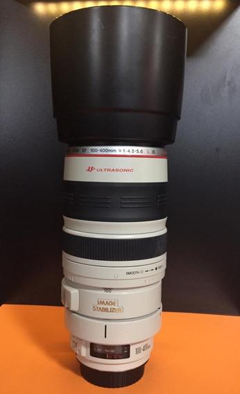 Lente Canon Ef 100-400mm F/4.5-5.6l Is Ii Usm Impecavel