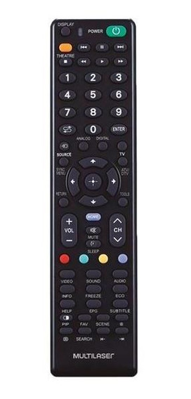 Controle Remoto Multilaser Para Tv Led Lcd Dvd Blue-ray Sony