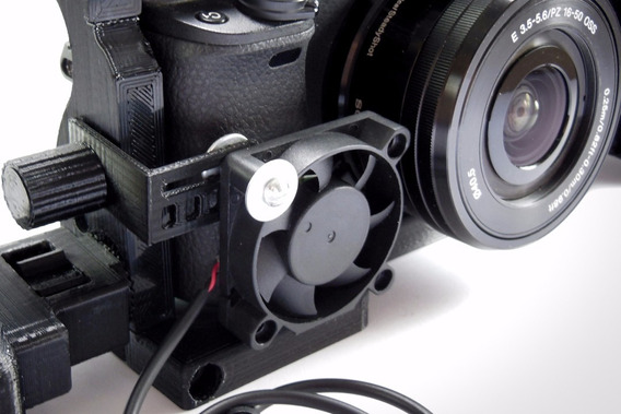 Cooler Para Cage Sony A6300 A6500 - Dj 3d Lab