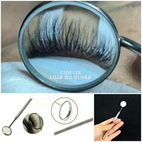 Espelho Estetica / Odontogico Inox Profissional