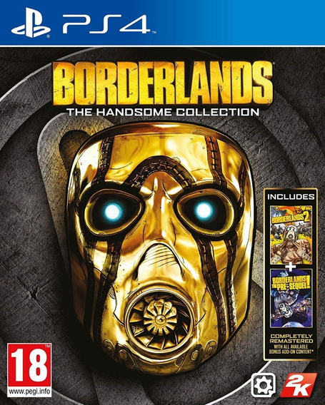 Borderlands The Handsome Ps4 Psn Game Digital Envio 15min.