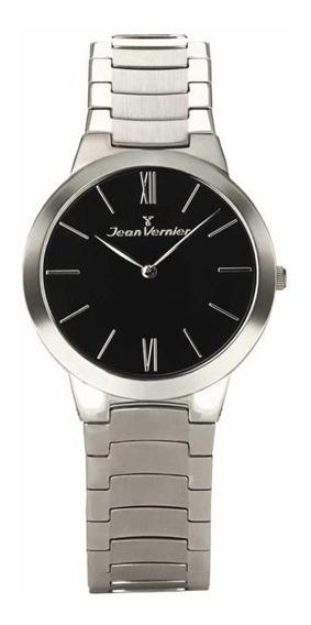 Relógio Analogo Jean Vernier Jv7686p Preto