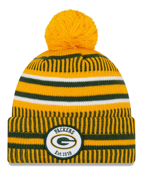 Touca Gorro Green Bay Packers Sideline New Era Oficial