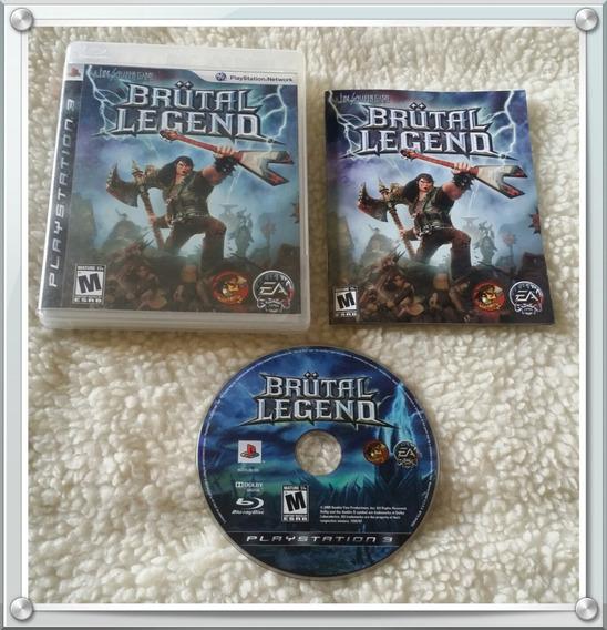 Jogo Brutal Legend Ps3 Mídia Física Playstation 3