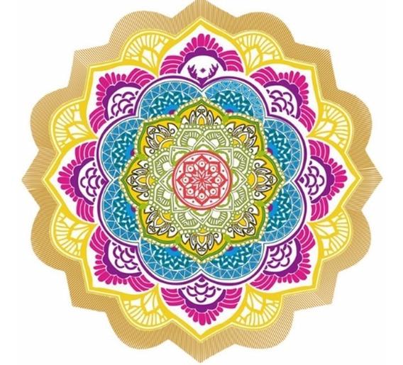Manta Mandala Yoga - Picnic - Dia De Sol - Tela Picnic