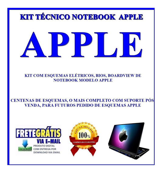 Kit Tecnico Notebook Apple, Esquemas, Bios E Boardview