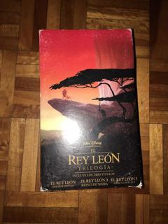 El Rey León: Trilogía - Vhs