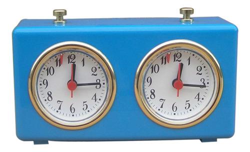 Imagen 1 de 6 de Reloj De Cuerda Profesional De Ajedrez Temporizador De
