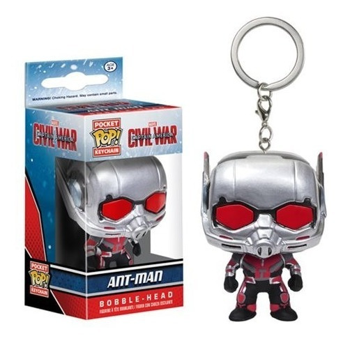 Chaveiro Pop Funko Keychain Marvel Homem Formiga Ant-man