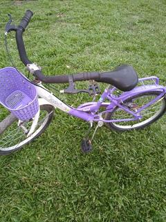 Bicicleta Bassano Rod. 20 Con Canasto.