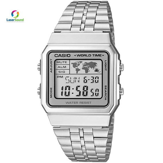 Relógio Casio Feminino Vintage A500wa-7df C/ Garantia E Nf