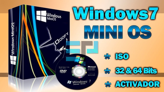 Windows 7 Mini Os Bajos Recursos