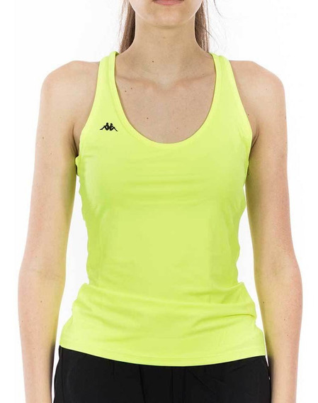 Musculosa Training Fancy Verde Mujer Kappa