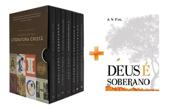Box Clássicos Da Literatura Cristã - 7 Vol + Deus É Soberano