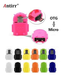Adaptador Conversor Otg Micro Usb