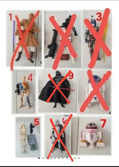 Star Wars Figuras Loose Apartir De
