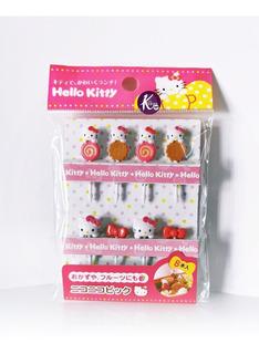 Hello Kitty Palillos Para Botana - Sanrio