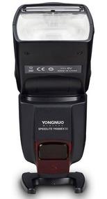 Flash Yn Ttl 565 Exiii Canon + Carregador Sony Com 4 Pilhas