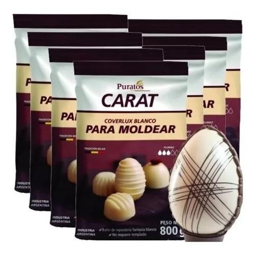Chocolate Carat Blanco 800 Grs