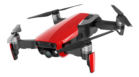 Drone DJI Mavic Air Fly More Combo con câmera 4K flame red