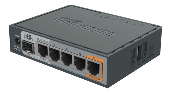 Mikrotik Rb760igs Hex S - Rb 760 Igs - Router