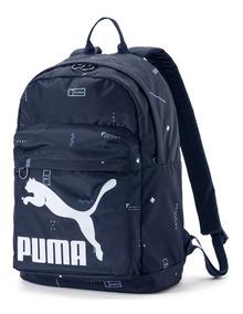 Mochila Puma Originals Backpack - Bordô