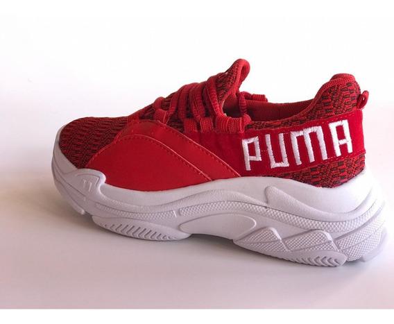 Tênis Puma Feminino Promoção Gratiz Par De Meias