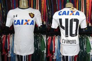 Sport Recife 2018 Camisa Reserva Tamanho P Número 40 Evandro