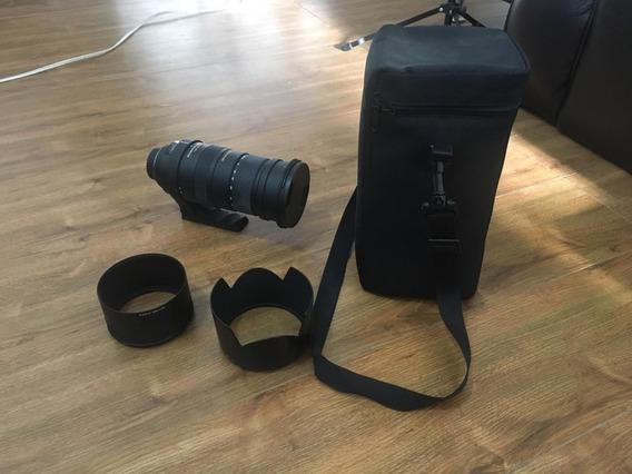 Lente Sigma 50-500mm F/4.5-6.3 Os Hsm - Em Perfeito Estado