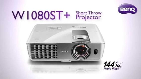 Projetor Benq W1080st+ Lacrado Único No Ml Short Throw Full