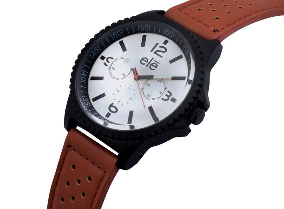 Reloj Relojes Moda Hombre Mujer Casual, Ele 6083 B