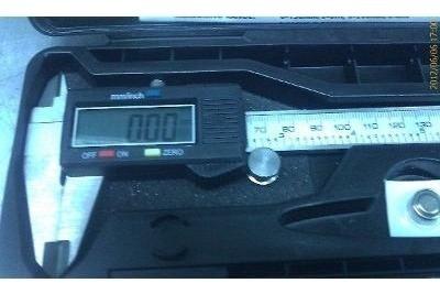 Vernier Digital De 6 O 150mm En Acero Inoxidable