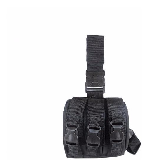 Pochete Tática Para Perna Com Protetor Modular