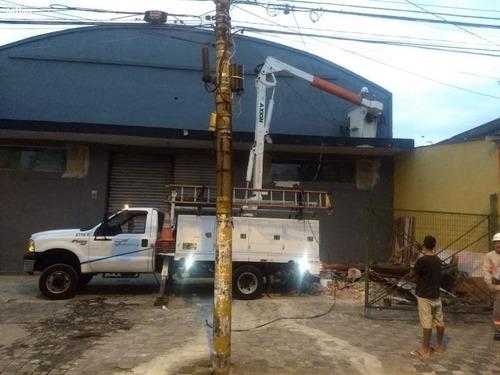 Galpão Para Locação Em Mongaguá, Campos Sales - 2000/2485_1-1277796