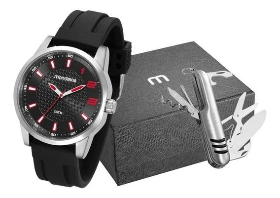 Relógio Masculino Mondaine Esportivo Preto 53526g0mvni1k1