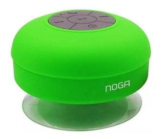 Parlante Bluetooth Noga P78 Resiste Agua Manoslibres Colores