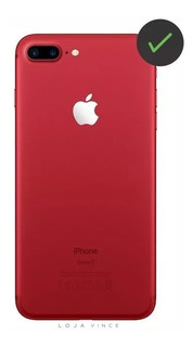 Chassi Carcaça iPhone 7 Red Vermelho + Botões