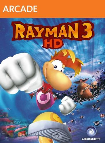Rayman 3 Hd Xbox 360 Digital Original