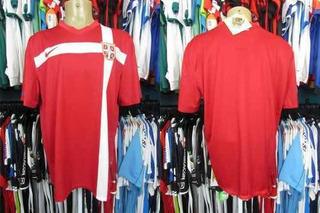 Sérvia 2010 Camisa Titular Tamanho Gg.