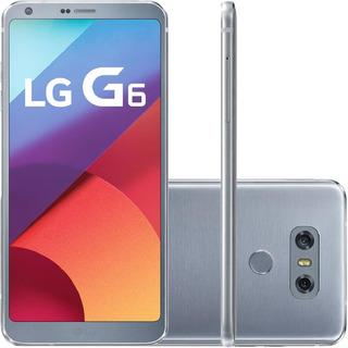 Smartphone Lg G6 H870 32gb Single 13mp 5.7 Prata Vitrine 1